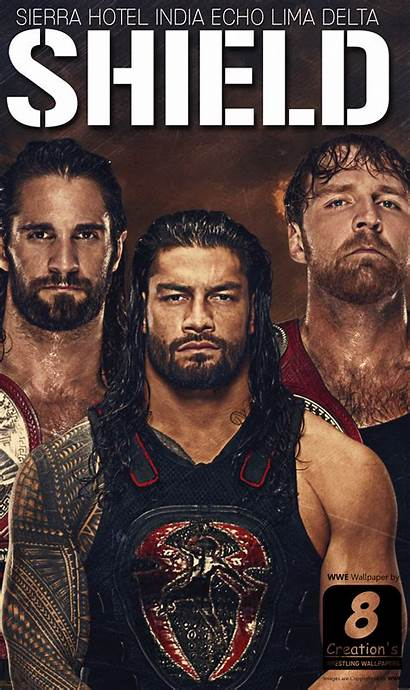 Wwe Shield Wallpapers Iphone Android Mobile Wallpaperplay