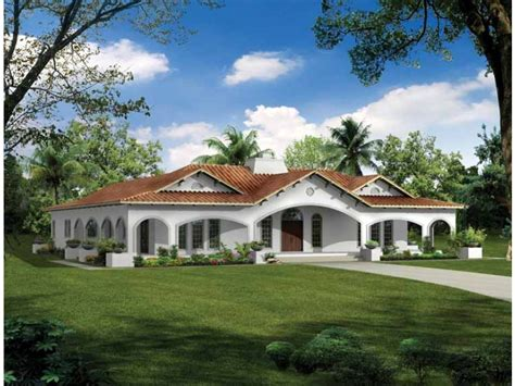 southwest style homes courtyard in the center hwbdo00992 southwest from