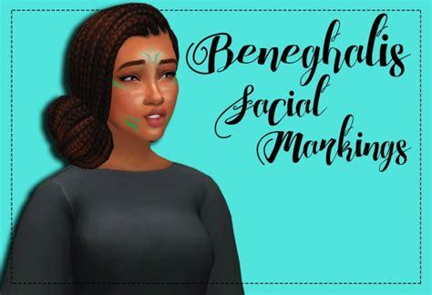 beneghalis facial markings recolor  weepingsimmer