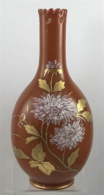 Glass Nouveau Harrach Vase Reticulated Ruby Bohemian