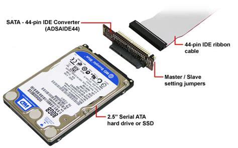 Sata To 44-pin Ide Converter
