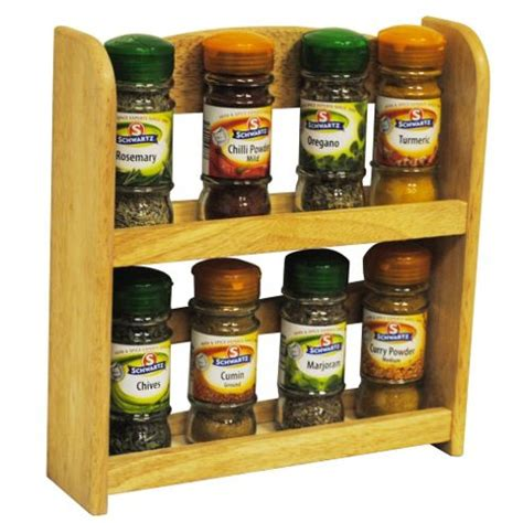 Tesco Spice Rack by Buy Wood Solid Wood 2 Tier Spice Rack From Our