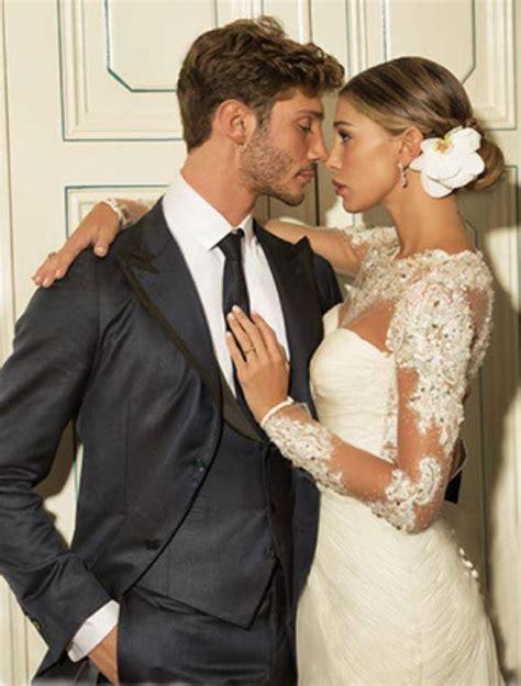 si e de massada belen e stefano su le foto delle nozze foto 1