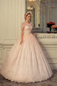 blush pink wedding dress with sleeves naf dresses With pink wedding dress with sleeves