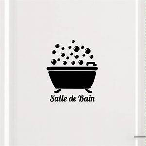 Porte De Salle De Bain : sticker porte salle de bain bain bulles stickers ~ Dailycaller-alerts.com Idées de Décoration