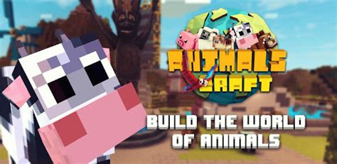 animals craft block world exploration pet apk