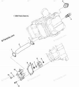 Polaris Side By Side 2006 Oem Parts Diagram For Water Pump