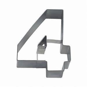 Emporte Piece Lettre : emporte pi ce chiffre 4 stadter 6 5cm ~ Melissatoandfro.com Idées de Décoration