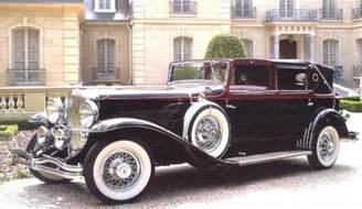 1930 Duesenberg J Town Car By Darrin Maroon Fvl - Cars