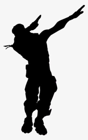 fortnite silhouette png image transparent png