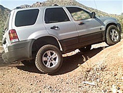 mazda tribute lifted escape suspension lift autos post
