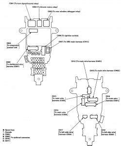 Isuzu Oasis Fuse Box Diagram Auto Genius
