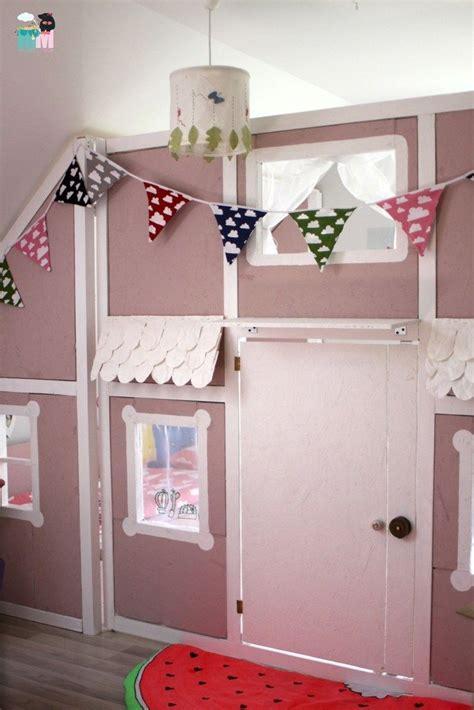 Ideen Kinderzimmer Selbstgemacht by Diy Ein Hausbett Im Kinderzimmer Chellisrainbowroom