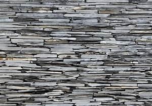 Steinmauer tapete hause deko ideen for Balkon teppich mit pferde tapete fototapete