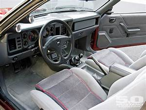 1985 Mustang....I didn't have the extra gauges but this is the interior....many a mile on that ...