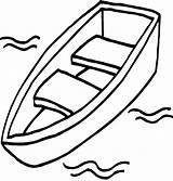 Coloring Boat Boats sketch template