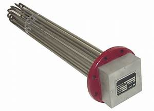 Electric Flanged Immersion Heater 2fl