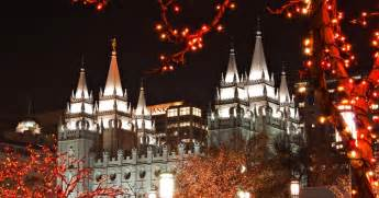 some dude with a camera temple square christmas lights 2011