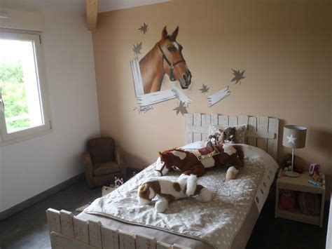 grand stickers muraux pas cher d 233 co chambre poney