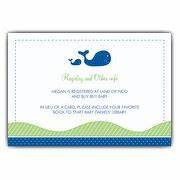Baby shower registry cards paperstyle for Baby registry announcement cards template