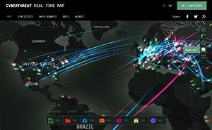 Watch real time cyber attacks