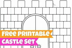 16 best photos of 3d castle templates paper cut out 3d With castle cut out template
