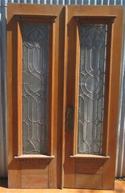 victorian style double doors recycling