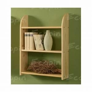 Etagere En Pin : etag re en pin suspendre lea ecopin meubles en pin ~ Teatrodelosmanantiales.com Idées de Décoration