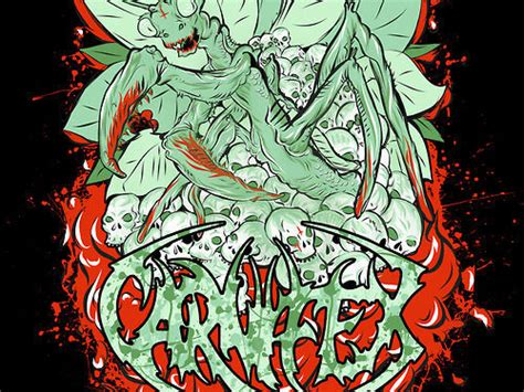 kaos carnifex pryke diseño de arte arte taringa