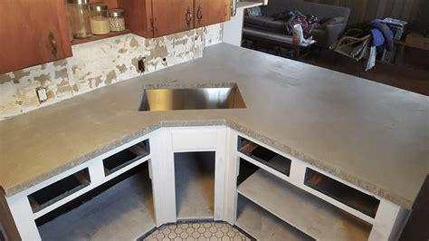 Cast In Place Concrete Countertop by Concrete Countertops