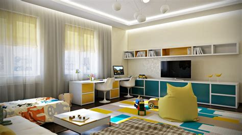 Crisp And Colorful Room Designs by Crisp And Colorful Room Designs Futura Home Decorating