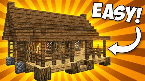 cosy compact house  porch minecraft tutorial youtube