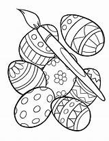 Easter Egg Printable Coloring Pages Getdrawings sketch template