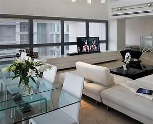 idees decoration salon table a manger - Deco Maison Moderne