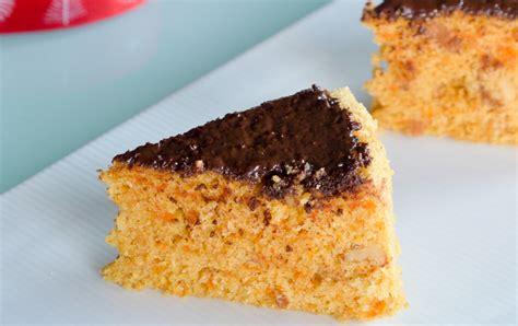 spiced carrot walnut cake recipe  chocolate  archana