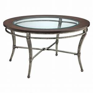 mastersti1708jpg With round metal coffee table with wood top