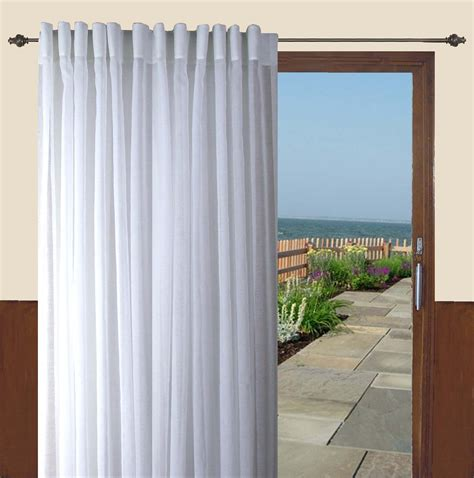 sears semi sheer curtains ricardo trading lucerne semi sheer back tab patio panel