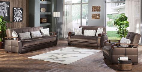 Brown Living Room Ls by Living Room Set Prestige Brown By Istikbal