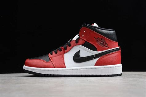 2020 Air Jordan 1 High Black Gym Red White 554724 069