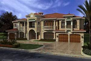 Luxury Home with 7 Bdrms, 7883 Sq Ft House Plan #107-1031