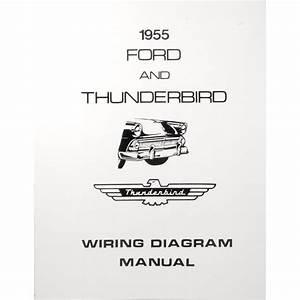 Book - Wiring Diagram Manual - 1955 Ford Car