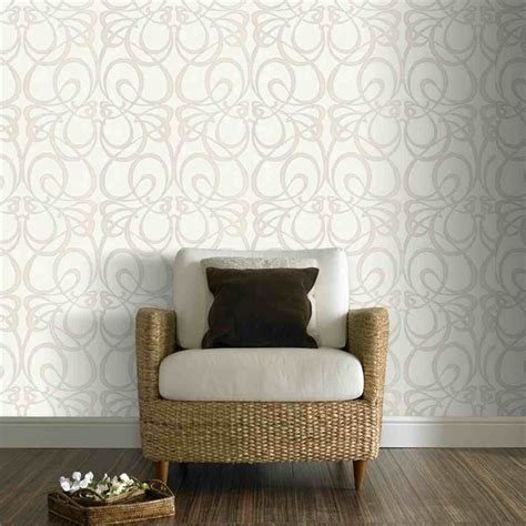 Graham & Brown Jazz Whitesilver 52cm X 10m Wallpaper