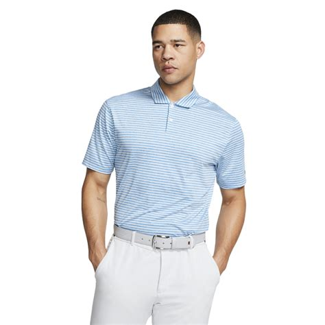 Nike Dri-FIT Tiger Woods Vapor Striped Golf Polo | PGA ...