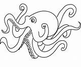 Coloring Octopus Squid Printable Colouring Cartoon Animal Sea Adults Timeless Miracle Ocean Pencil Preschoolers Adult Turtle Cat Popular Numbers Library sketch template