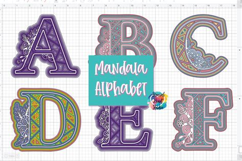 This listing includes the '3d floral mandala multi layered mandala svg' by harbor grace designs. FREE LAYERED ALPHA MANDALA SVG SET - Special Heart Studio
