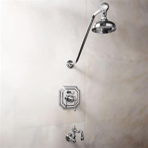 vintage pressure balance tub  shower faucet set