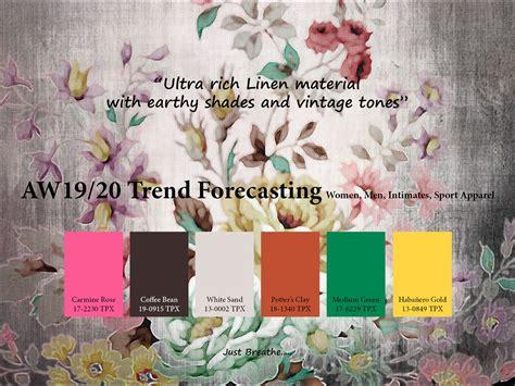 autumnwinter  trend forecasting   trendcolor