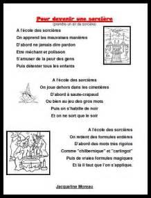 poesie pour devenir une sorciere pour la classe