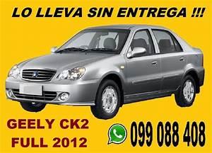 Geely Ck 2 2012 Full 100  Financiado Solo   8900 Por Mes