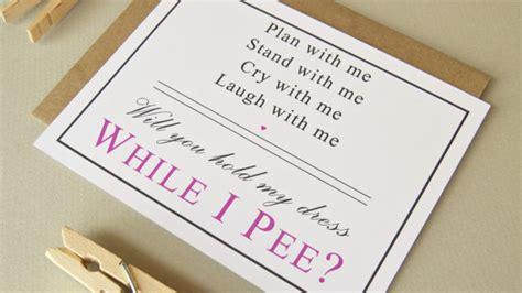 Creative and Funny Bridesmaids Invites Beach Wedding Tips